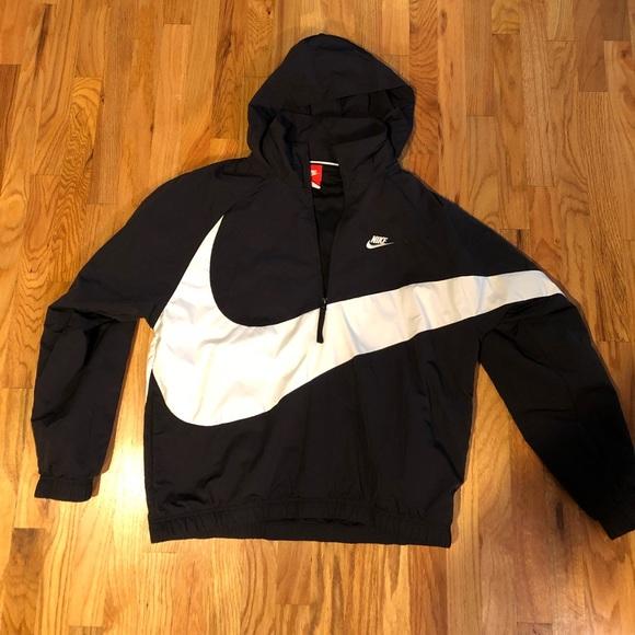 "a2b0145922 Nike Sportswear ""Big Swoosh"" Anorak Wind Jacket. M 5bcf92386a0bb7e6de27fc06"